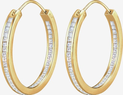 ELLI PREMIUM Ohrringe Creole Basic in gold, Produktansicht