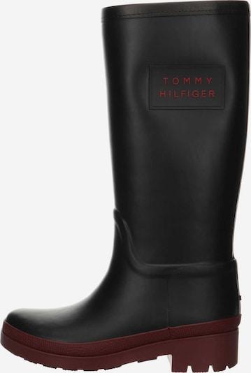 TOMMY HILFIGER Stiefel in schwarz, Produktansicht