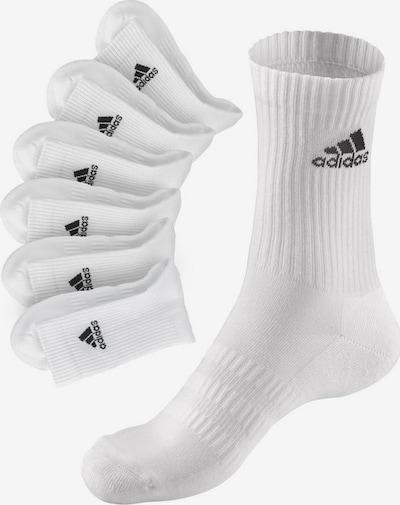 ADIDAS PERFORMANCE Socken in schwarz / weiß, Produktansicht