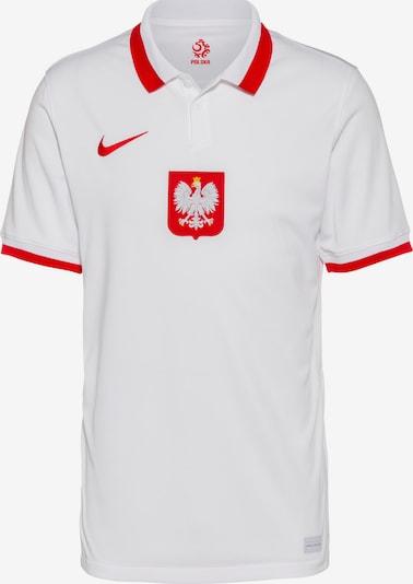 NIKE Tricot 'Polen 2021' in de kleur Goudgeel / Lichtrood / Natuurwit, Productweergave
