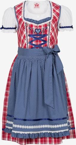 SPIETH & WENSKY Dress 'Gardenie' in Red