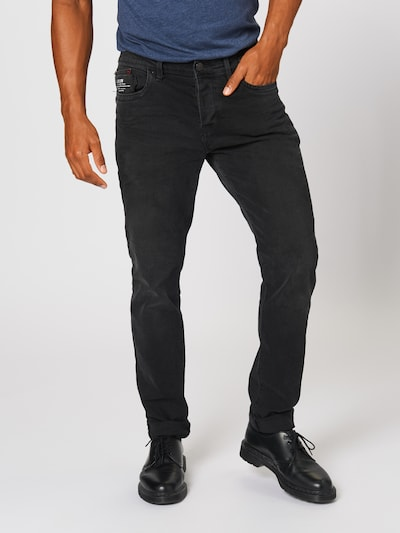 LTB Jeans 'SERVANDO X D' in black denim, Modelansicht
