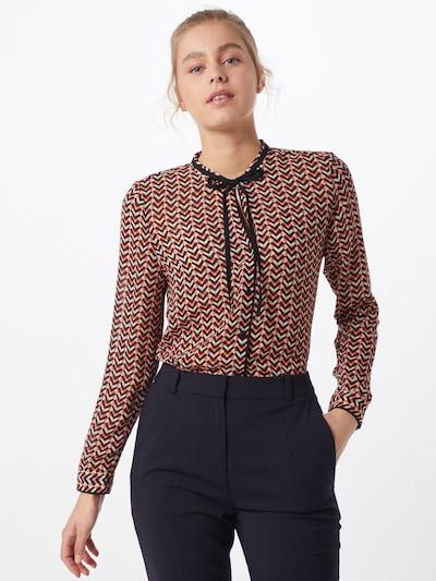 HUGO Bluse 'Ejolie' in rot / schwarz, Modelansicht