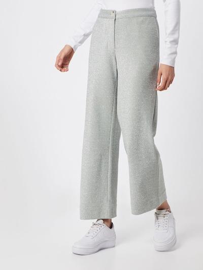JUST FEMALE Kalhoty 'Utopio' - stříbrně šedá, Model/ka