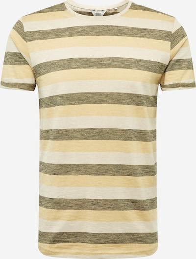 !Solid Tričko 'Harrison' - béžová / hnedé, Produkt