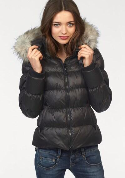 Herrlicher Zimska jakna 'Cora' | črna barva, Prikaz modela