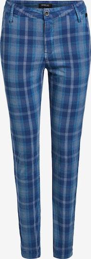 khujo Pantalon 'Alabama' en bleu / bleu foncé, Vue avec produit