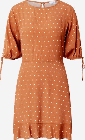 Cotton On Kleid 'Woven Lucie Mini' in braun / weiß, Produktansicht