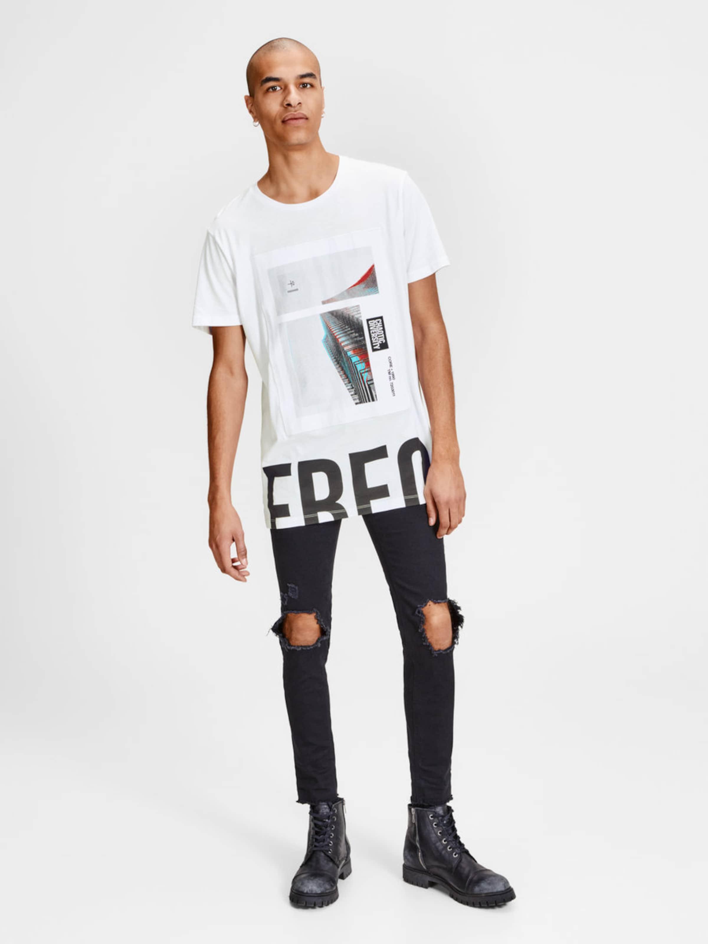 JACK & JONES T-Shirt Oversize Günstig Kaufen Manchester Großen Verkauf ZzYYK