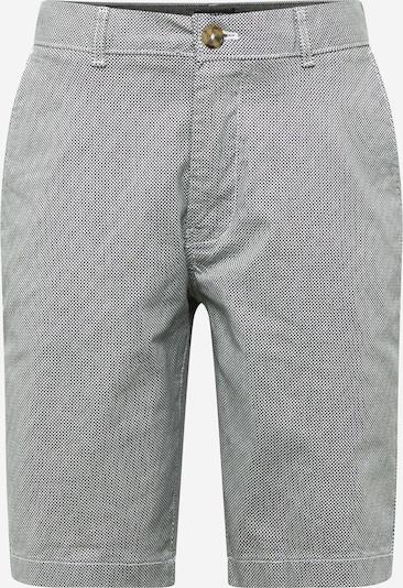 BURTON MENSWEAR LONDON Pantalon chino 'MONO' en noir / blanc, Vue avec produit