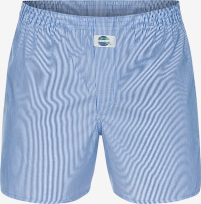 D.E.A.L International Boxershorts 'Stripe' in de kleur Blauw / Wit, Productweergave