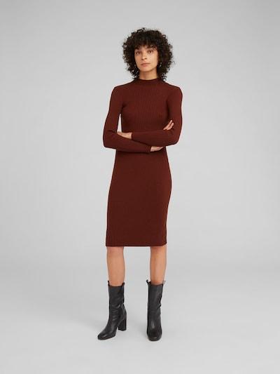 EDITED Kleid 'Hada' in braun, Modelansicht
