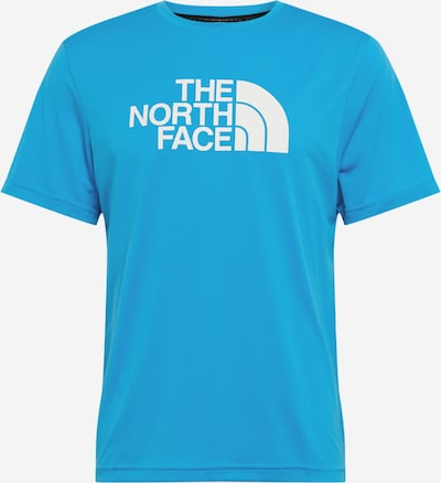 THE NORTH FACE Functioneel shirt 'Tanken' in de kleur Lichtblauw / Wit, Productweergave