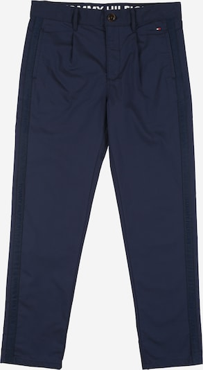 TOMMY HILFIGER Chinohose 'PLEATED TAPE' in navy: Frontalansicht
