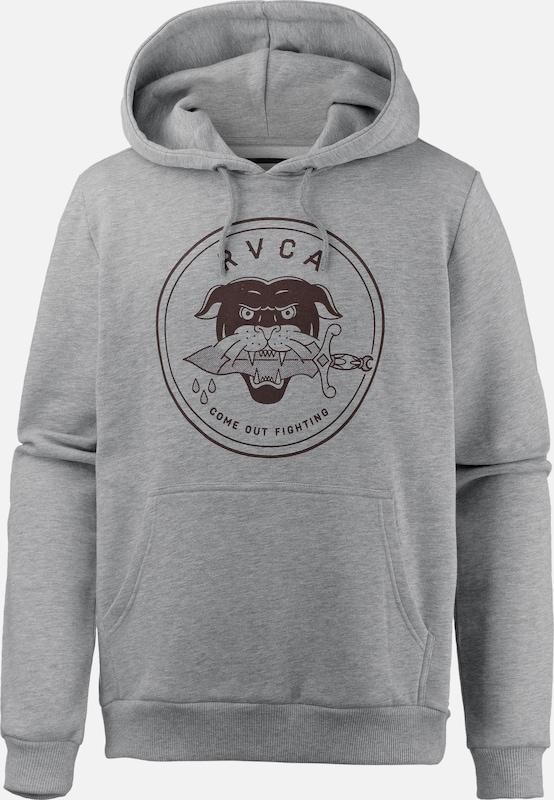 RVCA 'FRONT RV PANTHER' Fleeceshirt