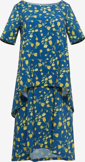FELIPA Zomerjurk 'Felipa' in de kleur Blauw / Geel, Productweergave