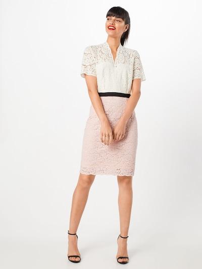 SET Kleid in rosa / schwarz / weiß, Modelansicht