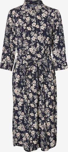 VERO MODA Kleid 'VMDIANA 3/4 CALF SHIRT DRESS WVN DA' in dunkelblau, Produktansicht
