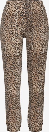 Ragdoll LA Pantalon 'Jogger' en marron / noir, Vue avec produit
