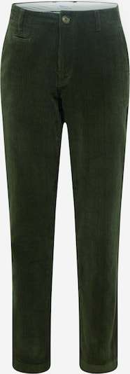 KnowledgeCotton Apparel Hose 'Chuck' in dunkelgrün, Produktansicht