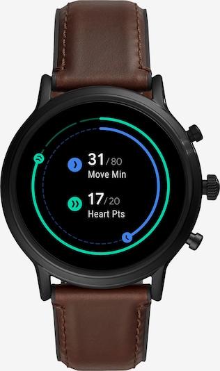 FOSSIL Smartwatch in kastanienbraun / schwarz, Produktansicht