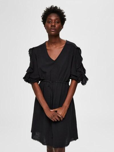 SELECTED FEMME Minikleid in schwarz: Frontalansicht
