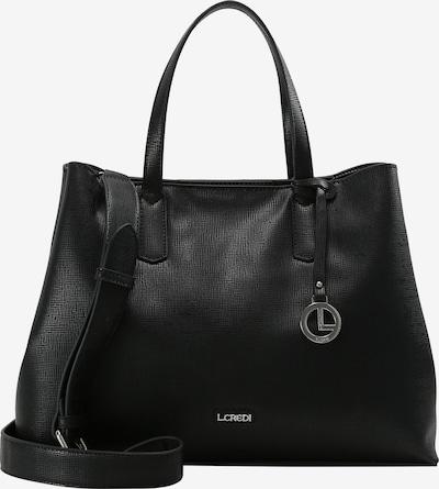 L.CREDI Henkeltasche 'Evita' in schwarz, Produktansicht