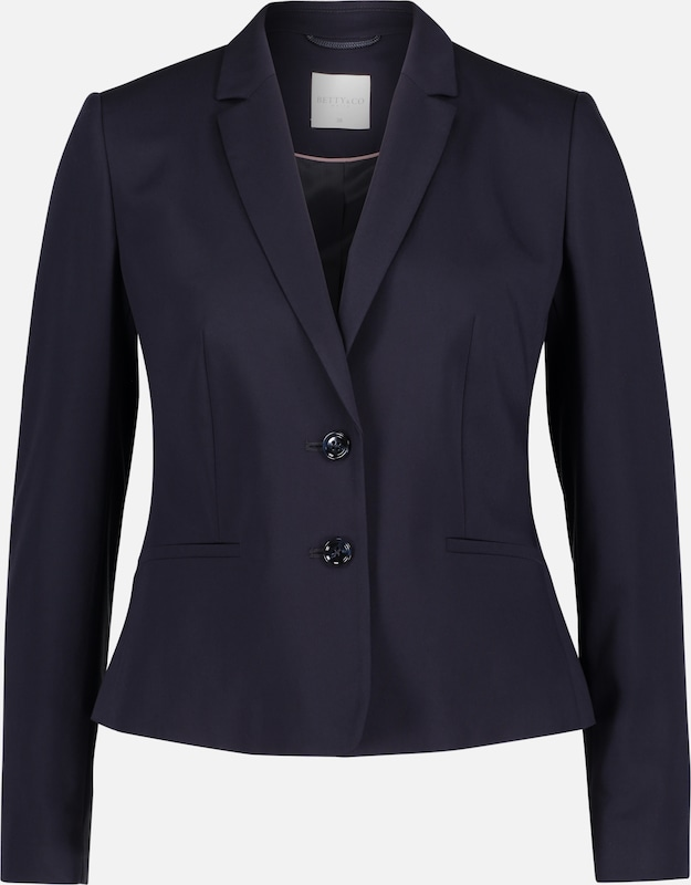 Betty & Co Blazer in nachtblau: Frontalansicht