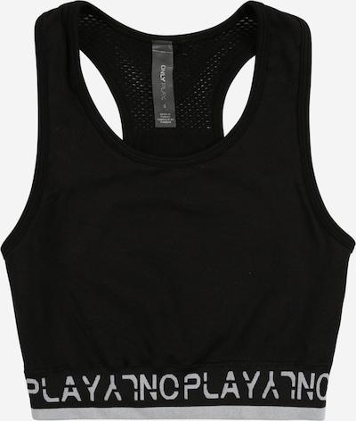 ONLY PLAY Biustonosz sportowy 'ONPPERFORMANCE UW CIRCULAR BRA' w kolorze czarny / białym, Podgląd produktu