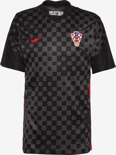 NIKE Fußballtrikot 'Kroatien 2021' in grau / rot / schwarz / weiß, Produktansicht