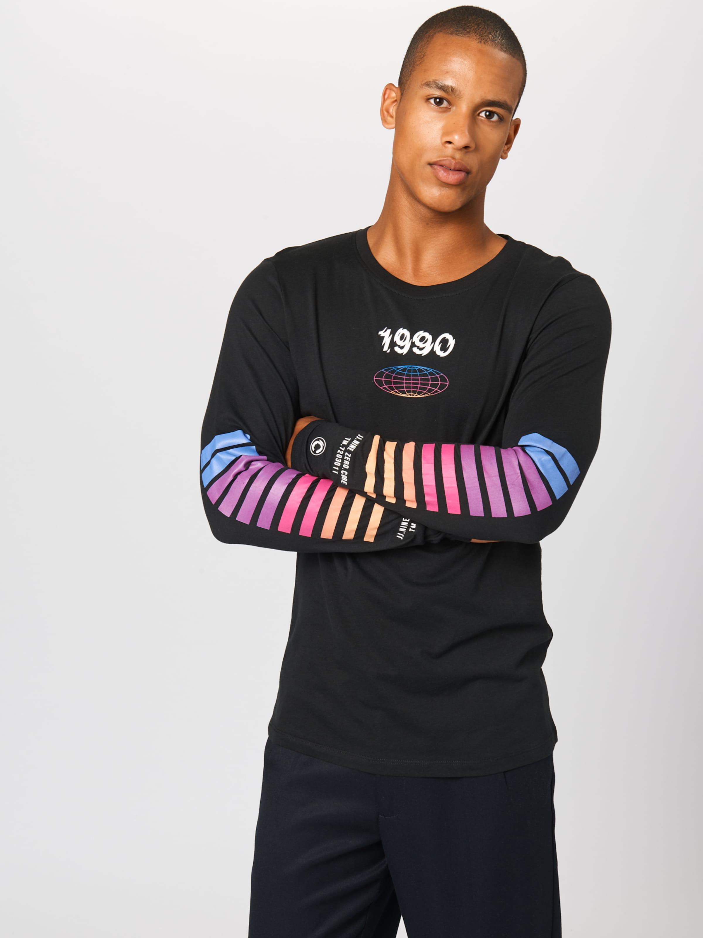 MischfarbenSchwarz Jones Jackamp; Shirt In 'ombre' 5q4AL3jR