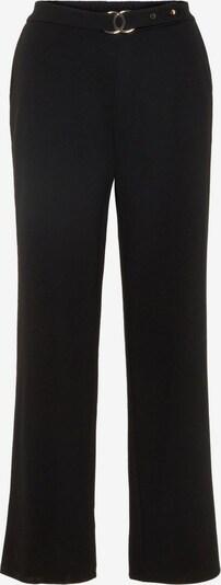 PIECES Pantalon en noir: Vue de face