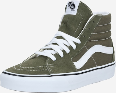 VANS Sneakers hoog 'SK8-Hi' in de kleur Donkergroen / Wit, Productweergave