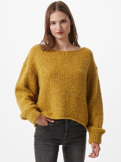 AMERICAN VINTAGE Sweter 'Tudbury' w kolorze żółtym, Podgląd na modelu(-ce)