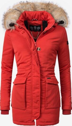 NAVAHOO Parka 'Schneeengel' in rot, Produktansicht