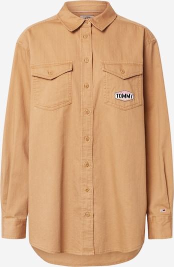 Tommy Jeans Shirt in de kleur Lichtbruin, Productweergave