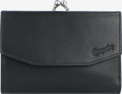 Esquire Geldbörse in schwarz / silber, Produktansicht