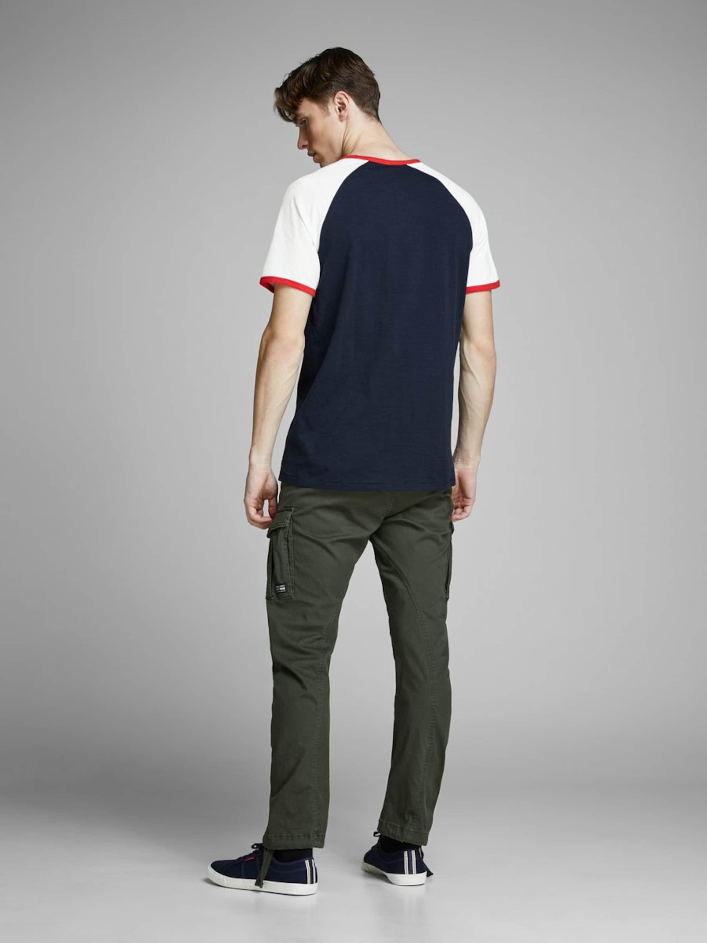Jackamp; Rouge shirt En CrèmeBleu Jones T Chiné OuiTXZPk
