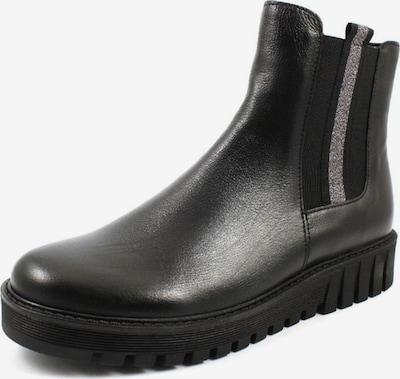 GABOR Stiefel in schwarz / silber: Frontalansicht
