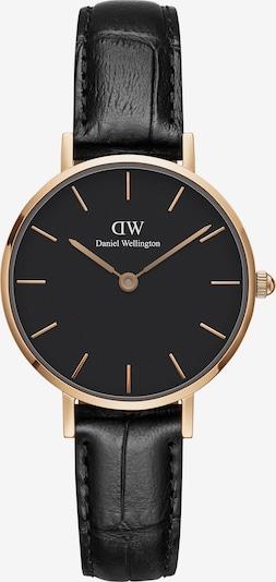 Daniel Wellington Uhr 'Petite 28 Reading DW00100223' in rosegold / schwarz, Produktansicht