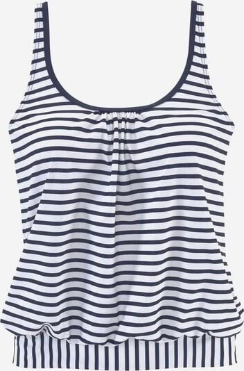 VENICE BEACH Tankini-Top 'Summer' in navy / weiß, Produktansicht