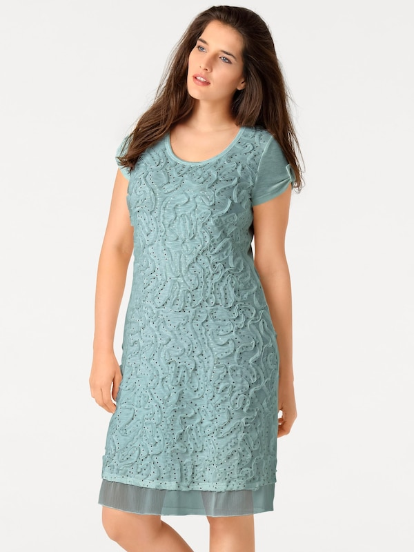 Linea Tesini By Heine Patch Sequined Dress