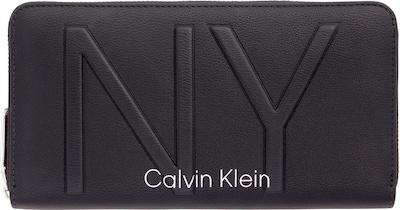 Piniginė 'NY SHAPED ZIPAROUND LG' iš Calvin Klein , spalva - juoda, Prekių apžvalga