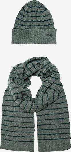 Only & Sons Sjaal in de kleur Rookgrijs / Grasgroen, Productweergave