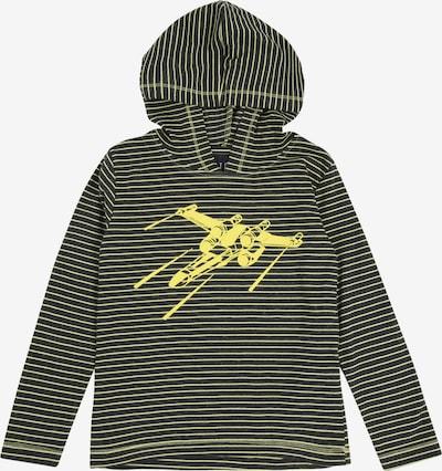 STACCATO Shirt in gelb / grau, Produktansicht