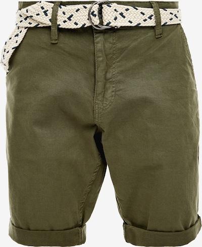 Q/S designed by Chino kalhoty - khaki: Pohled zepředu