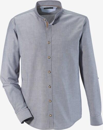 MURK Trachtenhemd in grau, Produktansicht