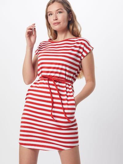 Suknelė 'NEW KANO' iš Wemoto , spalva - raudona / balta, Modelio vaizdas