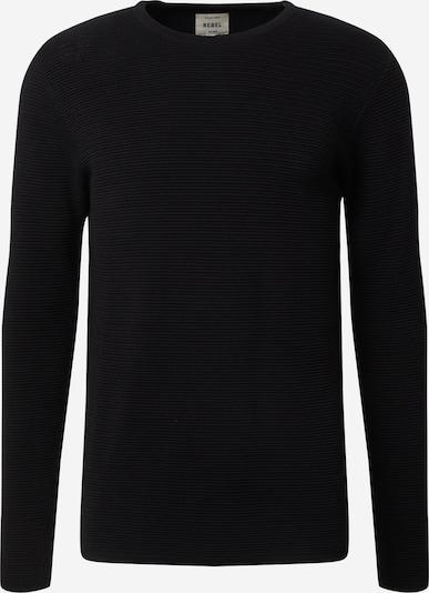 Redefined Rebel Pulover 'Brady' | črna barva, Prikaz izdelka