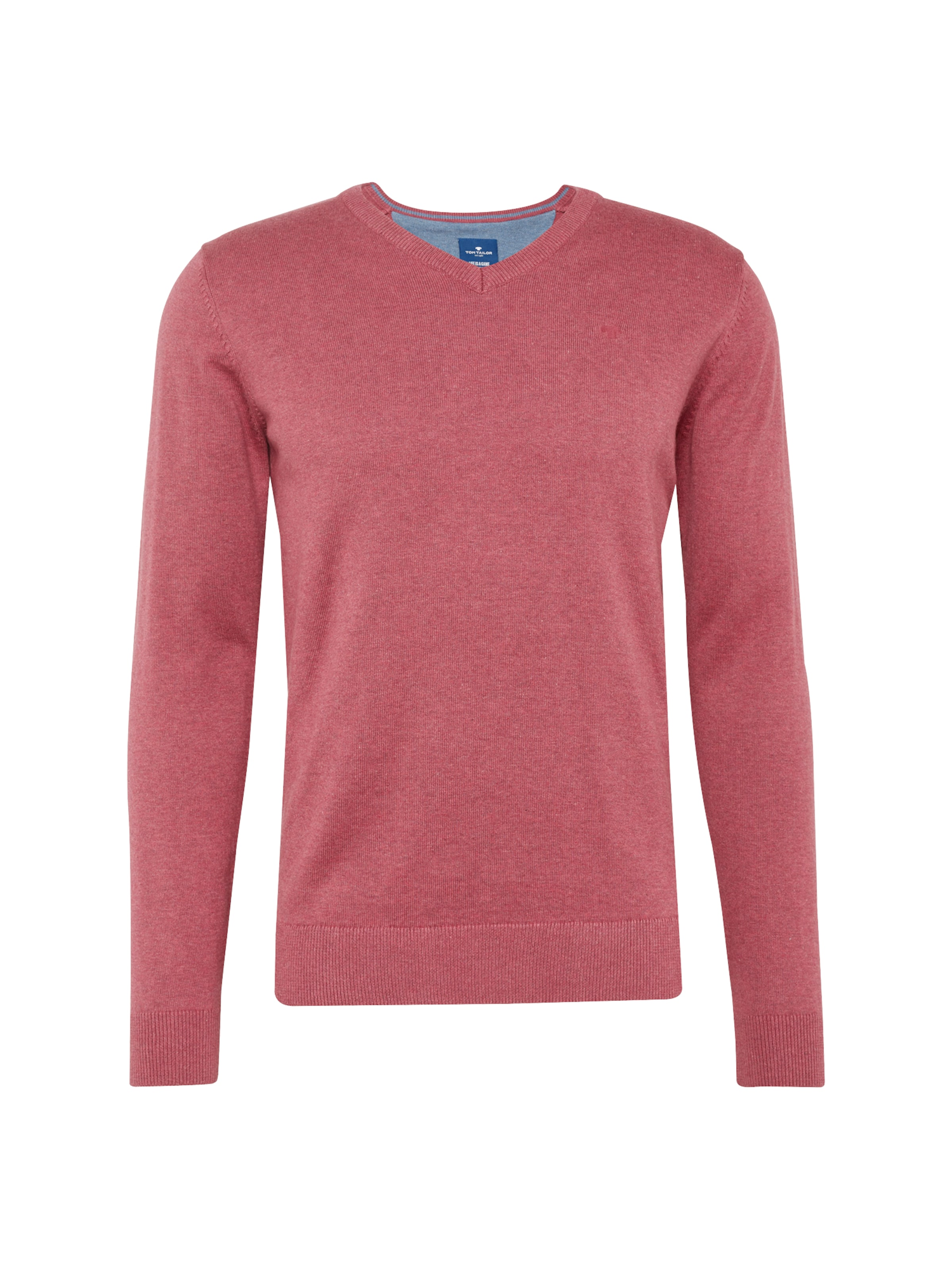 In Tom Tailor Pullover Tom Tailor Pastellrot D2YWH9IE